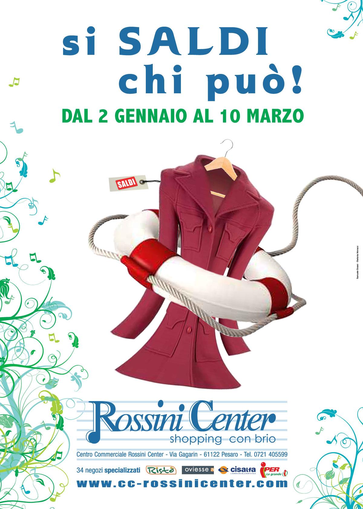 c7b3f53de235 Saldi invernali, Rossini Center, 2012. Saldi invernali, Centro Commerciale  ...