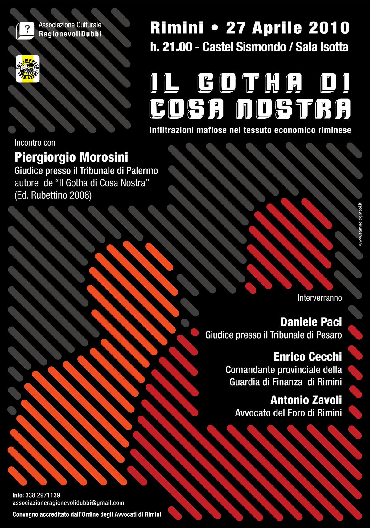 Presentazione libro il gotha di cosa nostra 2010 for Clienti sinonimo